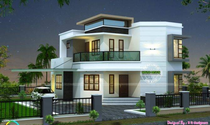 Cute Modern House Kerala Home Design