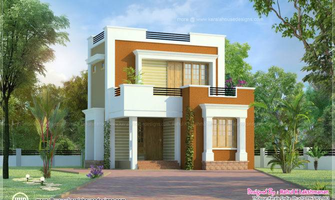 Cute Small House Design Square Feet Kerala Home