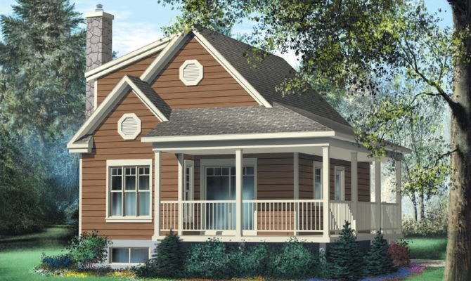 Cute Vacation Cottage Architectural Designs