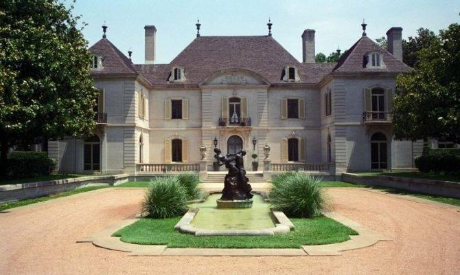 Dallas Texas French Chateau Home Photograph