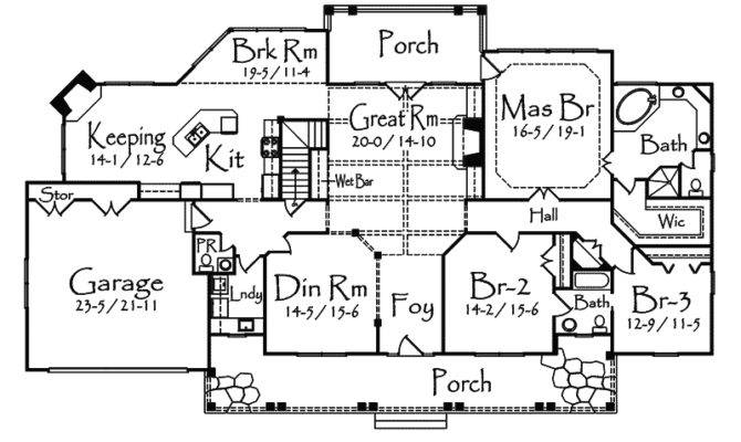 Damarco Rustic Country Home Plan House Plans More