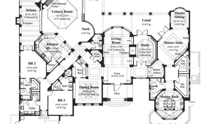 Dan Sater Luxury Home Plans