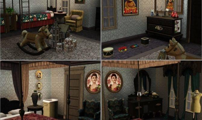 Dark Gothic Victorian Bedroom