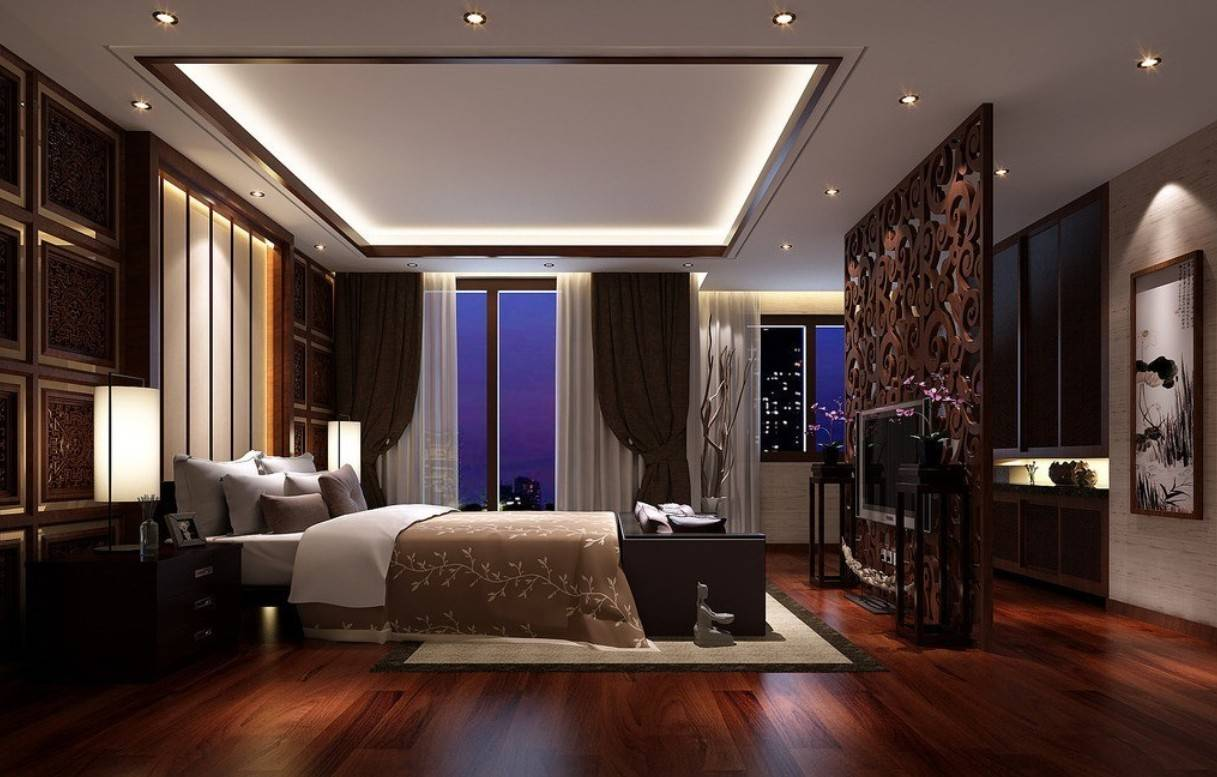 Dark Hardwood Flooring Ideas Bedroom Pop Ceiling Designs House Plans 5039
