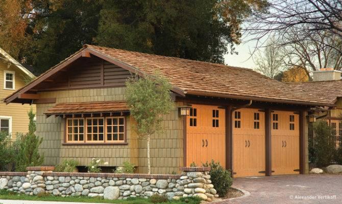 Darling Residence Craftsman Garage Shed Other