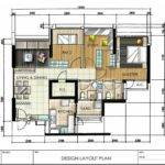 Dash Interior Hand Drawn Designs Floor Plan Layout