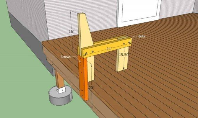 Deck Bench Plans Howtospecialist