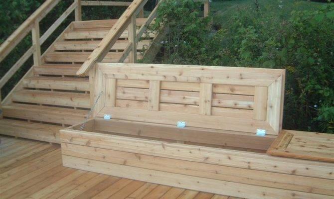 Deck Bench Storage Karolciblog