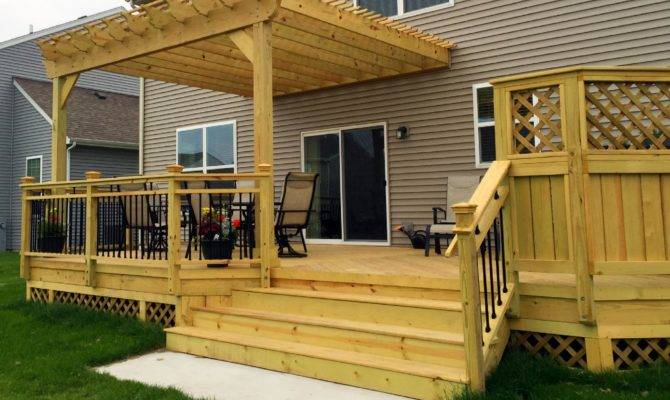 Deck Design Ideas Archadeck Chicagoland Outdoor