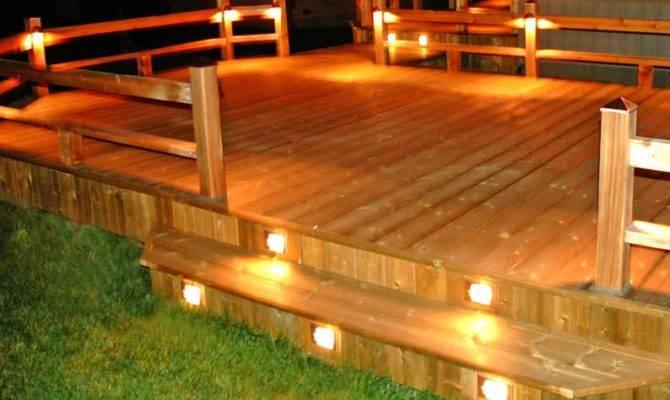 Deck Design Ideas Outdoor Lighting Choose