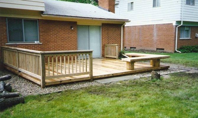 Deck Designs Decks Mobile Homes Double Wide Building