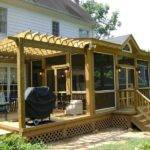 Deck Designs Screened Porches
