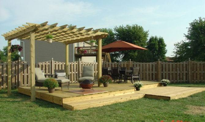Deck Designs Standing Design
