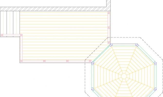 Deck Gazebo Plan Medium Rectangular