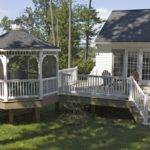 Deck Gazebos Vinyl Gazebo Craft Plus Llc