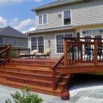 Deck Photos Mobile Homes Wooden Home