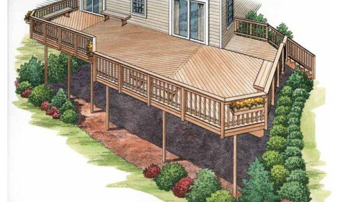 Deck Plan Dream Home Source House Code Dhsw