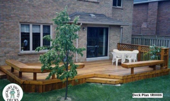 Deck Plan Large Low Single Level