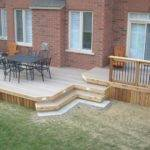 Deck Plan Low Medium Two Level Bench
