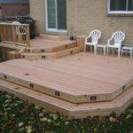 Deck Plan Medium Low Level Planter