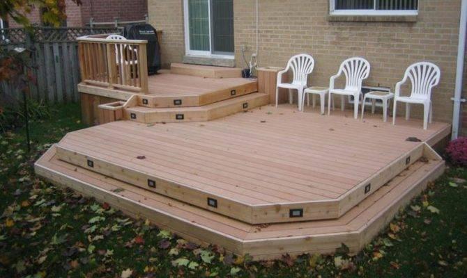 Deck Plan Medium Low Level Planter