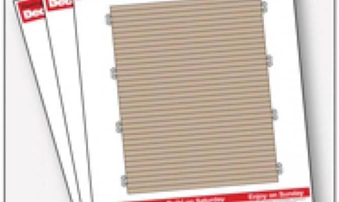 Deck Plans Omahdesigns