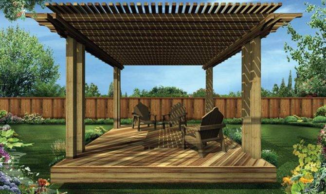 Deck Plans Wood Build Design