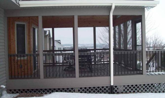 Deck Screening Screened Porch Designs Diy
