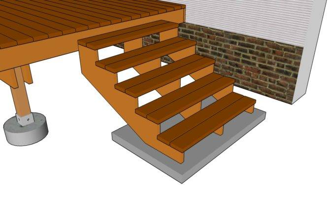 Deck Stair Railing Plans Myoutdoorplans