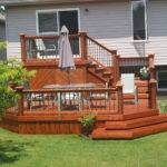 Deck Stunning Ground Level Plans Inspiring