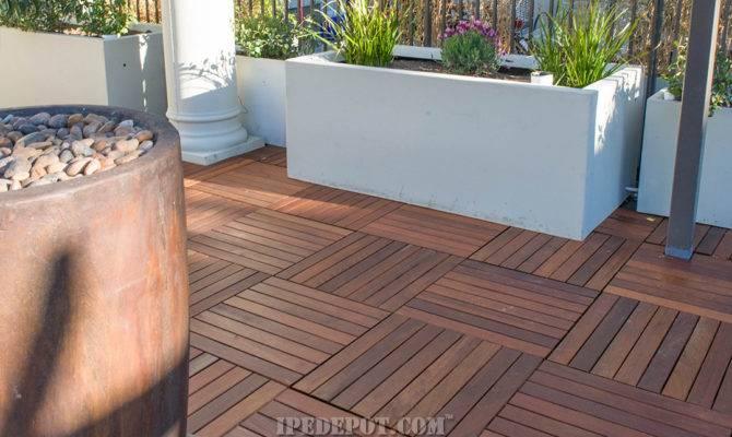 Deck Tiles Ipe Decking
