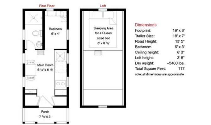 Decor Tiny House Plan Ideas