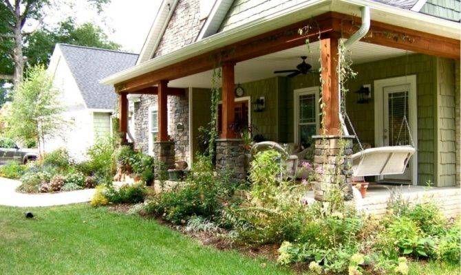 Decorating Small Front Porch Designs
