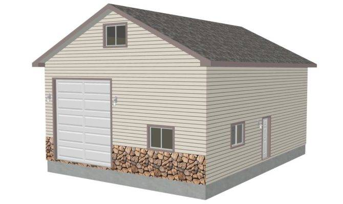 Decorative Garage Plans Loft