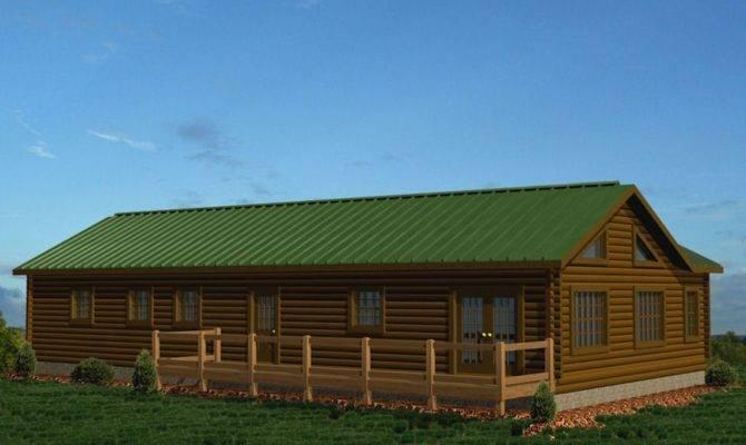 Deer Run Battle Creek Log Homes