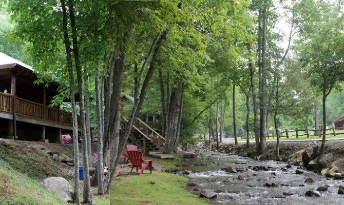 Deer Run Cabin Lands Creek Cabins Bryson City Rev