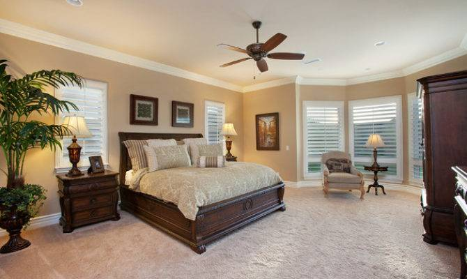 Del Sur French Country Home Master Bedroom Traditional