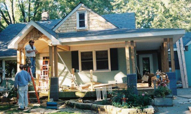 Delightful Adding Porch Ranch House Building Plans