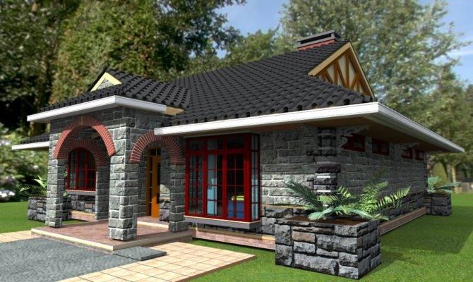 Deluxe Bedroom Bungalow Plan David Chola Architect
