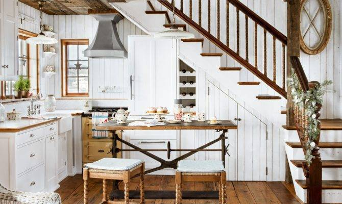 Design Cozy Cottage Style Interior Old House