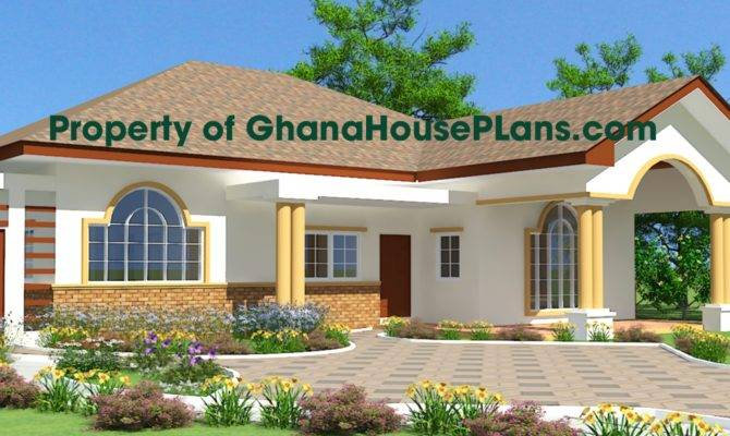 design home naanorley house plan designs ghana 1202970 670x400 - 29+ Modern Duplex House Designs In Ghana Gif