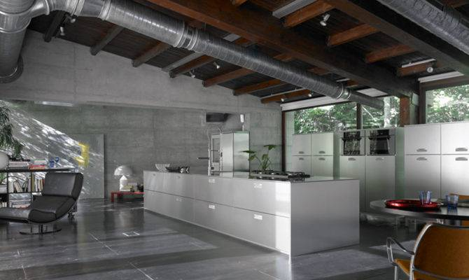 Design Ideas Industrial Style Kitchen Home Designs Project
