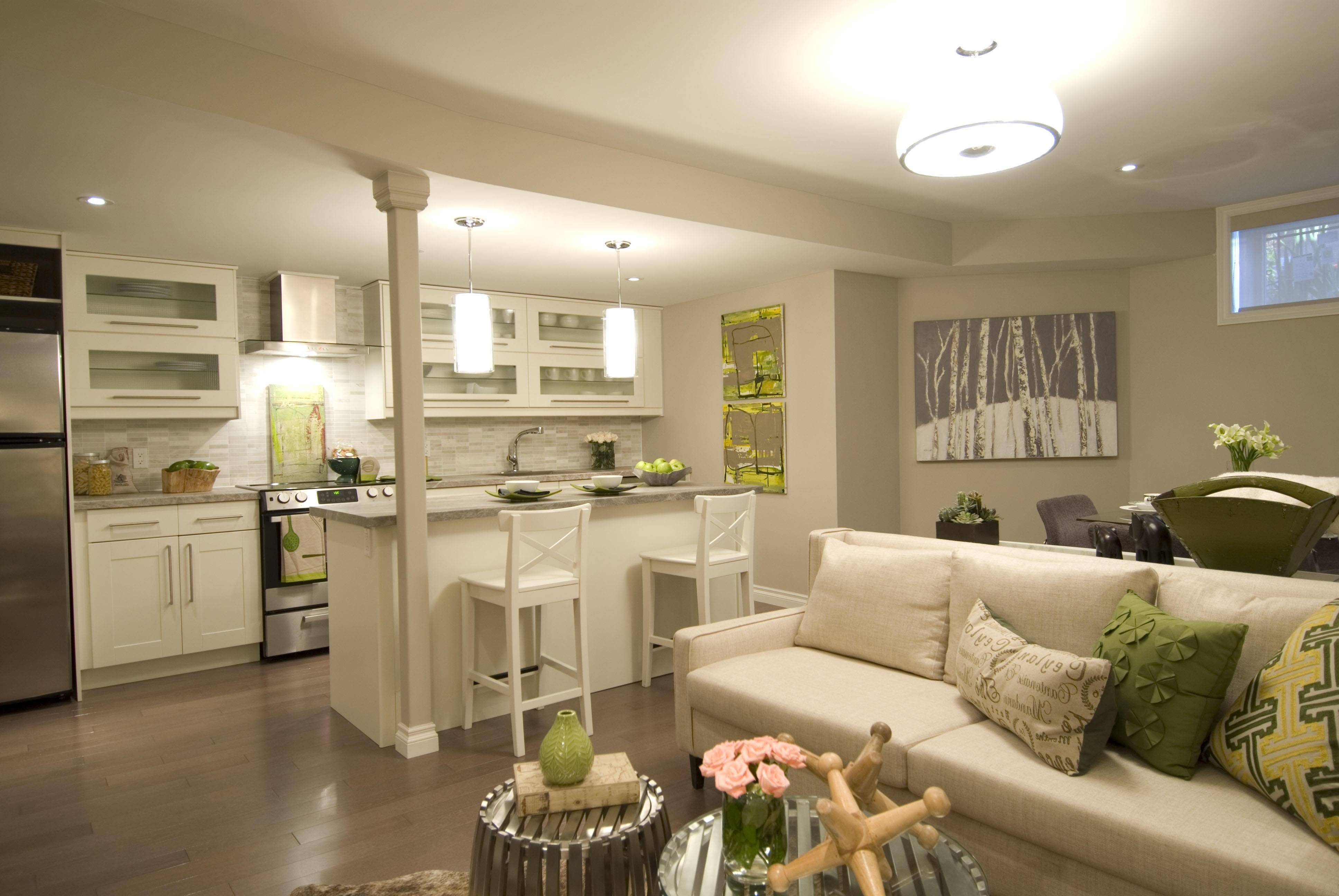 Design Ideas Lounge Dining Room Houzz Kitchen - House Plans  #16