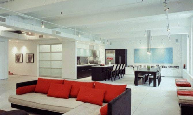 Design Ideas Modern Loft House Large Interior