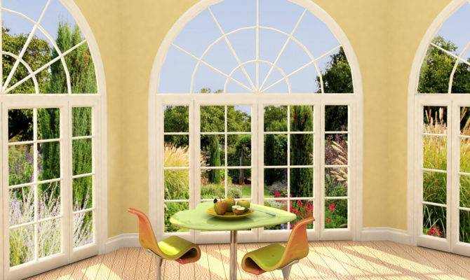Design Mediterranean Style Windows House