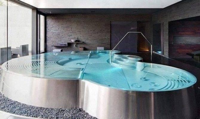 Design Piscine Jacuzzi Int Rieur Maison Miss