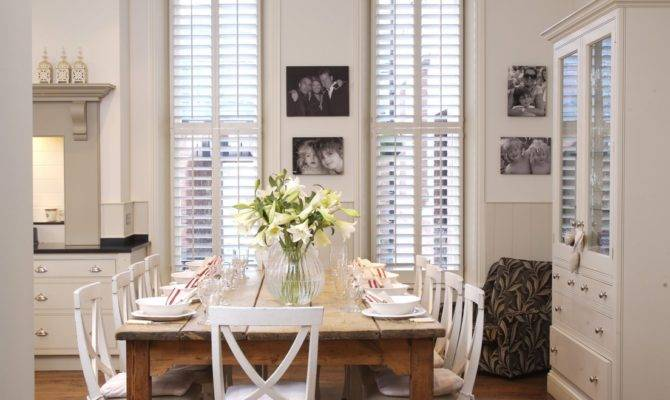 Design Simple Dining Room Country Style