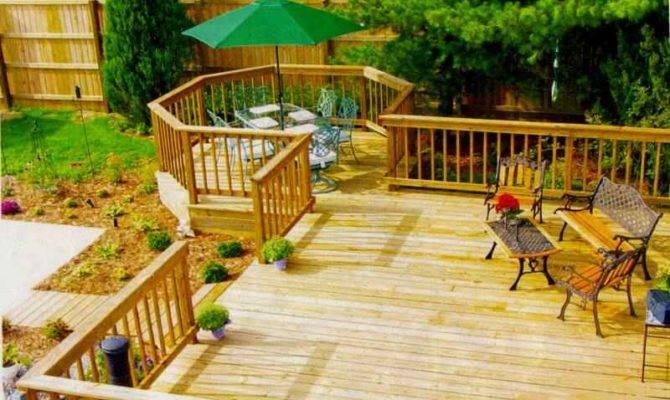 Design Wood Deck Cards Home