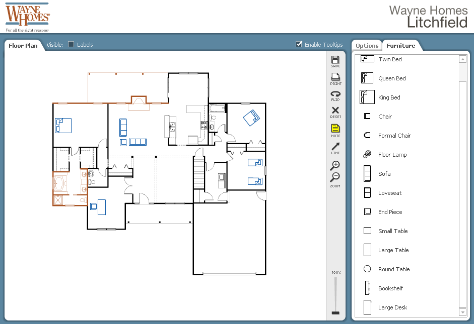 Design Your Own Floor Plan Our Interactive Planner House Plans 24254