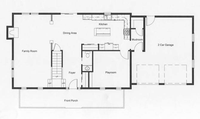 Designed Open Floor Plan Mind Homeowners Also